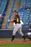 Bradenton Marauders third baseman Connor Joe (6) during a game against the Tampa Yankees on April 11, 2016 at George M. Steinbrenner Field in Tampa, Florida.  Tampa defeated Bradenton 5-2.  (Mike Janes/Four Seam Images)