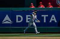 5 April 2018: New York Mets outfielder Jay Bruce in action against the Washington Nationals during the Nationals' Home Opener at Nationals Park in Washington, DC. The Mets defeated the Nationals 8-2 in the first game of their 3-game series. Mandatory Credit: Ed Wolfstein Photo *** RAW (NEF) Image File Available ***