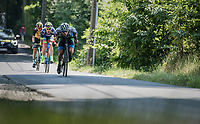 breakaway group descending the Kanarieberg<br /> <br /> 70th Halle Ingooigem 2017 (1.1)<br /> 1 Day Race: Halle > Ingooigem (201km)