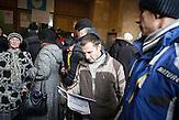 Pro EU Demonstrationen in Kiew, besetztes Haus am Majdan, 04.12.2013