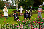 Enjoying a stroll in the Tralee Town park on Tuesday, celebrating Blooms day.<br /> Front John Foran and John Creagh<br /> Back l to r: Judy Costelloe, Kay Dowling, Christina Aguilera Buckley and Geraldine Hourigan.