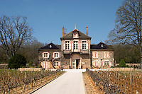 vineyard the main building clos des langres ardhuy nuits-st-georges cote de nuits burgundy france