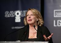 Christine Saint-Pierre au<br /> 13 ieme Gala Phenicia , 25 mai 2017<br /> <br /> PHOTO :  Agence Québec Presse