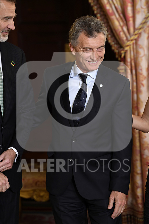 Argentina's President Mauricio Macri because of the United Nations conference for the Climate Summit 2019 (COP25) at the Royal Palace. December 2,2019. (ALTERPHOTOS/Pool/Carlos Alvarez)