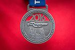 © Joel Goodman - 07973 332324 . 22/05/2016 . Manchester , UK . Race finisher's medal . The Great Manchester Run in Manchester City Centre . Photo credit : Joel Goodman