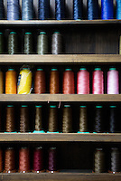 colourful threads at Sarukawa Footwear College