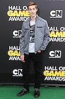 SANTA MONICA, CA, USA - FEBRUARY 15: Austin North at the 4th Annual Cartoon Network Hall Of Game Awards held at Barker Hangar on February 15, 2014 in Santa Monica, California, United States. (Photo by David Acosta/Celebrity Monitor)