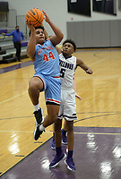 Fort Smith Southside's Tuesday, Jan. 12, 2021, Fayetteville's during the first half of play in Bulldog Arena. Visit nwaonline.com/210113Daily/ for today's photo gallery. <br /> (NWA Democrat-Gazette/Andy Shupe)