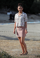 Pictured: South Yorkshire Police press officer Hannah Bryan in Kos, Greece. Monday 10 October 2016<br />Re: Police teams led by South Yorkshire Police are searching for missing toddler Ben Needham on the Greek island of Kos.<br />Ben, from Sheffield, was 21 months old when he disappeared on 24 July 1991 during a family holiday.<br />Digging has begun at a new site after a fresh line of inquiry suggested he could have been crushed by a digger.