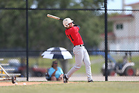 Caleb Cali (71) of Montverde Academy High School in Montverde, Florida during the Under Armour Baseball Factory National Showcase, Florida, presented by Baseball Factory on June 12, 2018 the Joe DiMaggio Sports Complex in Clearwater, Florida.  (Nathan Ray/Four Seam Images)
