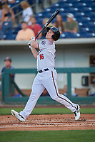 Travis Snider (16) of the Reno Aces bats against the Nashville Sounds at Greater Nevada Field on June 5, 2019 in Reno, Nevada. The Aces defeated the Sounds 3-2. (Stephen Smith/Four Seam Images)