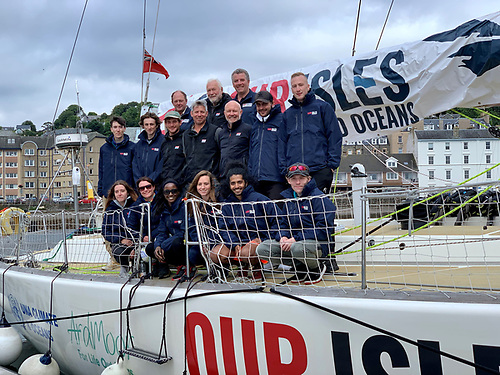 Crew on board Our Isles and Oceans