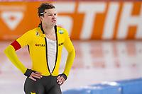 28th December 2020; Thialf Ice Stadium, Heerenveen, Netherlands; World Championship Speed Skating;  1500m men, Sven Kramer during the WKKT