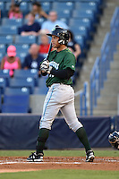 Daytona Tortugas first baseman Sammy Diaz (10) at bat during a game against the Tampa Yankees on April 24, 2015 at George M. Steinbrenner Field in Tampa, Florida.  Tampa defeated Daytona 12-7.  (Mike Janes/Four Seam Images)