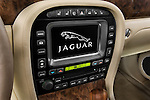 Stereo audio system detail of a 2008 Jaguar XJ Sedan