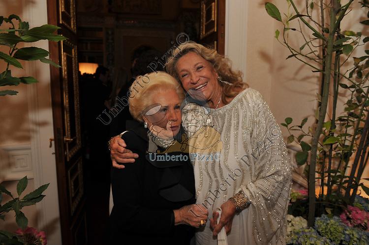 ASSUNTA ALMIRANTE CON MARTA MARZOTTO<br /> FESTA DEGLI 80 ANNI DI MARTA MARZOTTO<br /> CASA CARRARO ROMA 2011