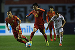 China PR vs Syria during their 2018 FIFA World Cup Russia Final Qualification Round Group A match at Shaanxi Province Stadium on 06 October 2016, in Xian, China. Photo by Marcio Machado / Power Sport Images
