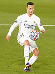 Real Madrid's Lucas Vazquez during UEFA Champions League match. December 9,2020.(ALTERPHOTOS/Acero)