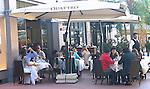 Outdoor Cafe, Quattro Restaurant, Lincoln Road, Miami, Florida