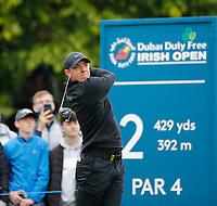 3rd July 2021; Mount Juliet Golf Club, Kilkenny, Ireland; Dubai Duty Free Irish Open Golf, Day Three; Rory Mcilroy of Northern Ireland tees off on the 2nd hole