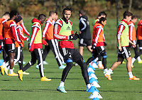 Pictured: Kyle Bartley Wednesday 05 November 2014<br />