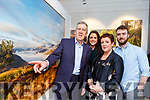 Retired Park ranger Peter O'Toole opened his photographic exhibition with his family in Killarney House on Saturday l-r: Peter, Sarah, Karie and Peter O'Toole