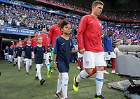 Lyon, France - Saturday June 09, 2018: Wil Trapp and the U.S. Men's National team vs France during an international friendly match between the men's national teams of the United States (USA) and France (FRA) at Groupama Stadium.