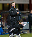 23/03/2010 Copyright  Pic : James Stewart.sct_jspa15_dundee_v_qots  .::  DUNDEE MANAGER GORDON CHISHOLM AND ASSISTANT BILLY DODDS SHOW THEIR FRUSTRATION  ::  .James Stewart Photography 19 Carronlea Drive, Falkirk. FK2 8DN      Vat Reg No. 607 6932 25.Telephone      : +44 (0)1324 570291 .Mobile              : +44 (0)7721 416997.E-mail  :  jim@jspa.co.uk.If you require further information then contact Jim Stewart on any of the numbers above.........