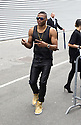 (News-Item): Coming in and out of the Cerruti Defile' in Paris, held at the Ritz Hotel we spotted an pictured Amanda Lear, Russel Westbrook, Rapheal Personnaz, Michal Wincott, Hugo Becker, Ben Northover, Victor Cruz and Elaina Watley. Paris, France - June 27, 2014
