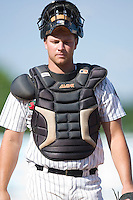 Winston-Salem catcher Cole Armstrong on defense versus the Frederick Keys at Ernie Shore Field in Winston-Salem, NC, Thursday, June 15, 2006.  Winston-Salem defeated Frederick 1-0 in game 1 of a double-header.