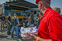 Cops and Kids Day with Food Truck Fest in Westerville, Ohio.
