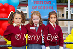 Junior Infants having fun on the first day of school in Fossa NS on WEdnesday (names to follow)