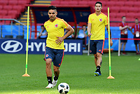 KAZAN - RUSIA, 23-06-2018: Radamel FALCAOjugador de Colombia, durante entrenamiento en Kazan Arena previo al encuentro del Grupo previo al encuentro del grupo H  con Polonia como parte de la Copa Mundo FIFA 2018 Rusia. / Radamel FALCAO player of Colombia during training session in KazanArena prior the group H match with Poland as part of the 2018 FIFA World Cup Russia. Photo: VizzorImage / Julian Medina / Cont