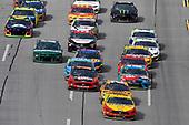 #22: Joey Logano, Team Penske, Ford Mustang Shell Pennzoil and #20: Erik Jones, Joe Gibbs Racing, Toyota Camry CRAFTSMAN