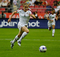 U.S. forward Heather O'Reilly. The United States (USA) defeated Norway (NOR) 4-1 during the third place match of the Women's World Cup China 2007 at Shanghai Hongkou Football Stadium in Shanghai, China, on September 30, 2007.
