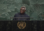 72 General Debate – 22 September <br /> <br /> <br /> <br /> Address by His Excellency Manasseh Sogavare, Prime Minister of Solomon Islands