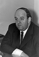 Sujet : Le comédien québécois Yvon Dufour<br /> , le 12 janvier 1968<br /> <br /> Photographe : Photo Moderne<br /> - Agence Quebec Presse