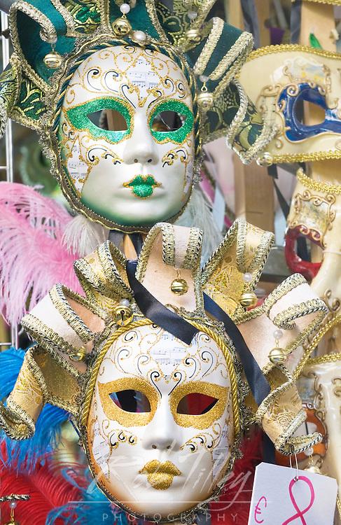 Europe, Italy, Tuscany, Florence, Carnival Masks