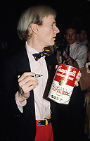 Andy Warhol 1980s Photo by Adam Scull-PHOTOlink.net