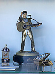 Elvis Statue, Bonnies Music, Las Vegas, Nevada
