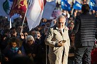 15.10.2021 - No Green Pass Demo In Rome - No Pass, No Vax, No Mask, Covid-19 Deniers