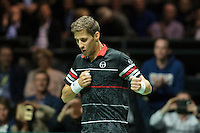 Rotterdam, The Netherlands, February 12, 2016,  ABNAMROWTT, Martin Klizan (SVK)<br /> Photo: Tennisimages/Henk Koster