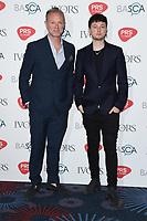 Gary Kemp and son Finlay<br /> at The Ivor Novello Awards 2017, Grosvenor House Hotel, London. <br /> <br /> <br /> ©Ash Knotek  D3267  18/05/2017