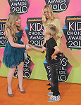 Maria Bello & son meet Jennette McCurdy at Nickelodeon's 23rd Annual Kids' Choice Awards held at Pauley Pavilion in Westwood, California on March 27,2010                                                                                      Copyright 2010 © DVS / RockinExposures