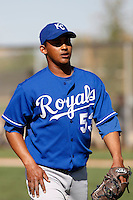 Carlos Rosa  - Kansas City Royals - 2009 spring training.Photo by:  Bill Mitchell/Four Seam Images