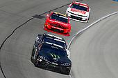#18: Riley Herbst, Joe Gibbs Racing, Toyota Supra Monster and #8: Zane Smith, JR Motorsports, Chevrolet Camaro Canadamark Diamond / BN3TH