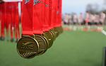 Gold medal match, Harbour 1 v Canterbury 1. Men's U18 Hockey Nationals, Gallagher Hockey Centre, Hamilton. Saturday 17 July 2021. Photo: Simon Watts/www.bwmedia.co.nz