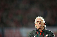 Poland head coach Leo Beenhakker. The United States defeated Poland 3-0 during an international friendly at Wisla Stadium in Krakow, Poland on March 26, 2008.