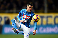 Jose Callejon of Napoli <br /> Parma 24-02-2019 Ennio Tardini <br /> Football Serie A 2018/2019 Parma - Napoli <br /> Foto Image Sport / Insidefoto
