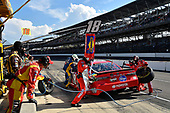 Monster Energy NASCAR Cup Series<br /> Brickyard 400<br /> Indianapolis Motor Speedway, Indianapolis, IN USA<br /> Sunday 23 July 2017<br /> Kyle Busch, Joe Gibbs Racing, Skittles Toyota Camry<br /> World Copyright: Rusty Jarrett<br /> LAT Images